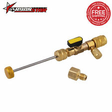 "Hvac Tool Valve Core Remover Dual 1/4"" and 5/16"" Port Installer"