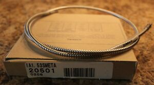 Banner Engineering IA1.53SMETA (20501) Glass Fiber Optic Cable - New In Box