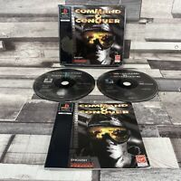 COMMAND & CONQUER ~ BIG BOX ~ PAL PlayStation 1 ~ COMPLETE AND FULLY TESTED ~