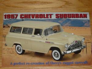 Danbury Mint Brochure, 1957 Chevrolet Suburban, 1/24 Scale