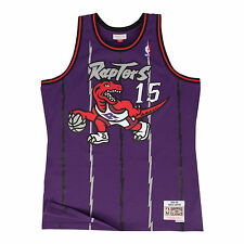 Vince Carter Toronto Raptors Mitchell & Ness Swingman Jersey Purple S