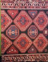 1979 Katalog Von Verkauf Schwierigkeiten Faubourg St.Honore Teppich Orient