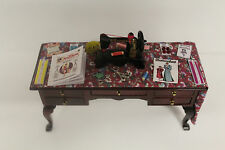 DOLLS HOUSE (   HABERDASHERY Laden Table