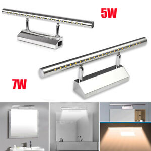 LED Mirror Front Bathroom Lamp Wall Light Makeup Picture Lighting