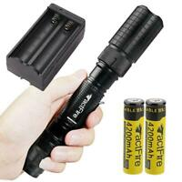90000LM 5Modes LED Flashlight Outdoor Torch Zoomable Camping Light Aluminum USA