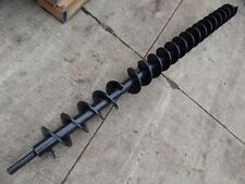 "Auger Drill Attachment Extra Long Heavy Duty Auger Extension 91&1/2"" L; 6&1/2"" W"