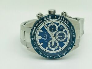 Rotary GB00643/05 Chronograph Stainless Steel Bracelet Men's Watch (113A)
