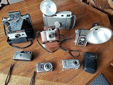 New listing Vintage Camera Lot (7) 3 Kodak - 2 Olympus - 2 Polaroid