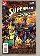 Superman Annual #8-1996 vf/nm Legends of the Dead Earth: The League of Supermen