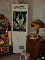 Fortune Teller, Antique Coin Op Old Restored Jukebox