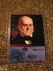 US President John Quincy Adams 1825 Upper Deck Hisotry USA Trading Card