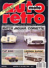AUTO MOTO RETRO N°92 avril 1988