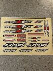 Vintage Ofna Jammin X-1 Cr Decals