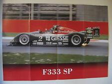 POSTER AUTOPLUS FERRARI  F333 SP  GT COLLECTION