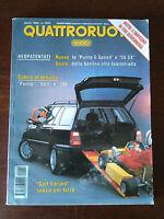 Quattroruote n 462 aprile 1994 - Audi Avant RS2, Lexus GS 300, Rover 214i