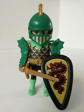 Playmobil Figure - Wannabee General of the Green Dragon warriors (Loose)
