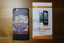 iphone 6 Plus hearthstone theme matt case