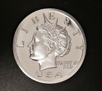 2005 NORFED DOLLAR 1 oz .999 FINE SILVER FROSTY PROOFLIKE FROM FEDERAL IMPOUND
