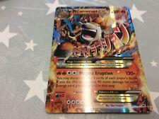 Mega camerupt ex xy198 jumbo Pokemon card