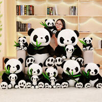 Cute Bear Panda Animal Stuffed Plush Doll Toy Panda Soft Pillow Baby Kids Gift