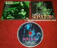 SEPULTURA - Nailbomb CD IMPORT Live In Europe UNOFFICIAL RELEASE Rare Thrash