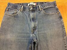 LEVIS 550 RELAXED FIT VINTAGE CLASSIC JEANS ACTUAL 36 x 33 Tag 38 x 34 BEST O95