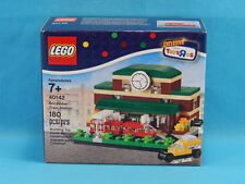 LEGO 40142 Bricktober 2015 Train Station Set RARE, FACTORY SEALED and EXCLUSIVE