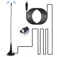 5dBi Indoor Gain Digital DVB-T/FM Freeview Aerial Antenna Booster for TV HDTV