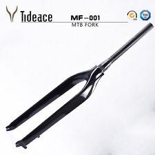 26er/29er Full Carbon Mountain Bicycle Forks Glossy MTB Frame Bike Front Forks