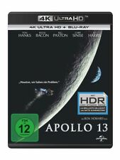 APOLLO 13 (4K UHD) - TOM HANKS,KEVIN BACON,ED HARRIS  2 ULTRA HD BLU-RAY NEU