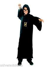 Costume MAGO tunica con cappuccio Tg 5/6 anni