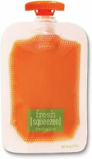 Infantino Squeeze Pouches 50 Pouch Set 118ml Volume - Fits Squeeze Station