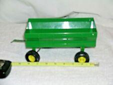 John Deere Green Toy Farm Wagon nice condition