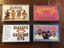 Alabama Cassette Tape Lot Four 4 Tapes Greatest Hits, Christmas, Just Us, Touch