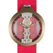 Reloj de cuerda manual Atto Verticale correa en lienzo número 3343A4