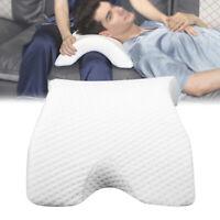 Memory Foam Neck Side Sleeper Pillow Neck Support for Sleeping Shoulder Pain