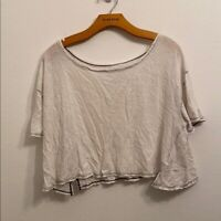 We The Free medium white short sleeve shirt