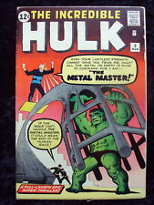 THE INCREDIBLE HULK #6   1962 SILVER AGE  MARVEL COMICS