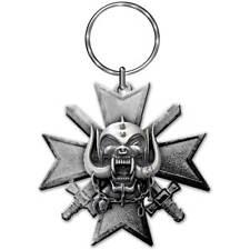 Motorhead Official Bad Magic Logo Metal Key Ring Chain Charm Band Lemmy