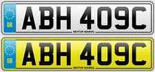 Cherished TARGA-ABH 409C-ABH AB Ah 20 numero ABH AB Ah