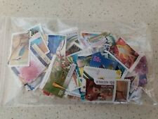 25 % off Unfranked Stamps OFF PAPER. Mixed.  FV $70