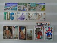 GREAT BRITAIN 1968 COMMEMORATIVE STAMPS YEAR SET MNH MINT 4 x SETS 15 x STAMPS
