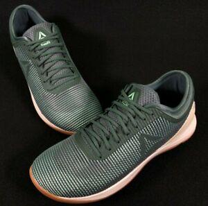 Reebok CrossFit Nano 8.0 Green/Mint Training Shoes Size 12.5 Men's