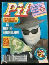 b)Pif Gadget n°1052 du 5/1989; BD; Noël et Marie
