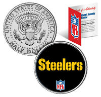 PITTSBURGH STEELERS  NFL JFK Kennedy Half Dollar US Coin  *Officially Licensed*