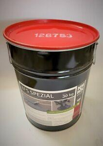 Beschichtungsmasse,Porenfüller für Aspahlt30kg 3,30€/kg BFS Schlemme