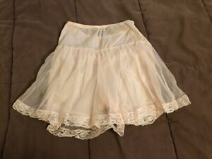 Vintage 1960s Nylon Sheer Pink Frilly Penney's Gaymode Panties Lace Sissy Small