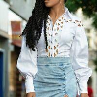 By Alina MEXTON Damenshirt Sexy Shirt Top Tunika Oberteil Bluse 34 - 38 #D325
