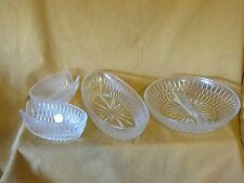 PRINCESS HOUSE HIGHLIGHTS in Lead Crystal Exclusive 4 Piece Serving Set #855