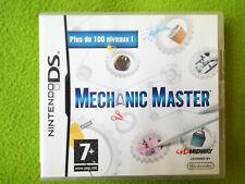 MECHANIC MASTER (casse tête)  Version FR - Jeu Nintendo DS